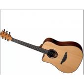 LAG TRAMONTANE 80 TL80DCE Електро-Акустична китара за лява ръка