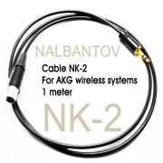Цена 25лв. Аудио Кабел Налбантов - 1м. - за микрофон Налбантов - AKG, Sennheiser, Shure системи.