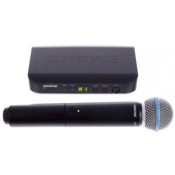 SHURE BLX24E/B58 Вокален Безжичен Микрофон