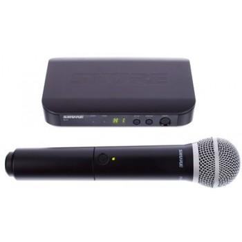 SHURE BLX24E/PG58 вокален безжичен микрофон