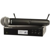 SHURE BLX24RE/SM58 вокален безжичен микрофон