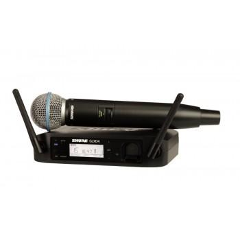 SHURE GLXD24E/B58-Z2 дигитален вокален безжичен микрофон