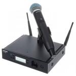 SHURE GLXD24RE/B58-Z2 дигитален вокален безжичен микрофон за инсталиране в рак