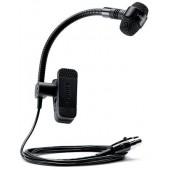 SHURE PGA98H-TQG -огъващ се безжичен, кондензаторен микрофон щипка