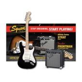 SQUIER PACK BLK 10G Комплект електрическа китара