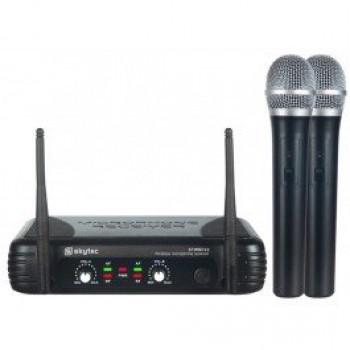 STWM722 Безжичен двоен микрофон вокален UHF