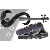 Stagg EVN 4/4 BK Електрическа Цигулка Комплект