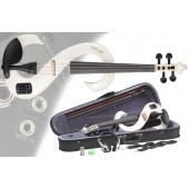 Stagg EVN 4/4 WH Електрическа Цигулка Комплект