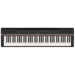 YAMAHA DIGITAL PIANOS P-121 Black